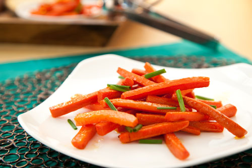 glazed carrots side dish recipe
