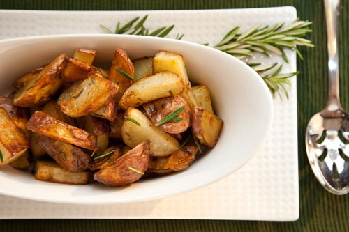 oven roasted red potatoes side dish recipe