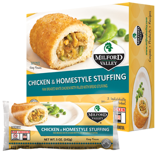 chicken and homestyle stuffing packaging