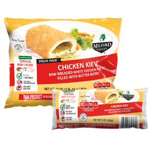 chicken kiev packaging