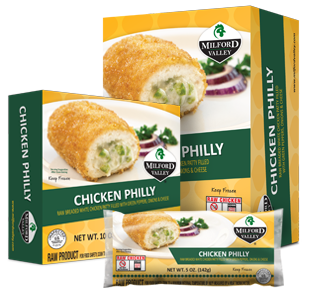 chicken philly packaging