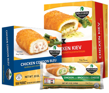 milford valley chicken products